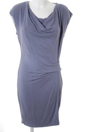 Pierre Cardin schulterfreies Kleid grauviolett Casual-Look