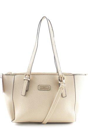 Pierre Cardin Shopper schwarz-goldfarben Elegant