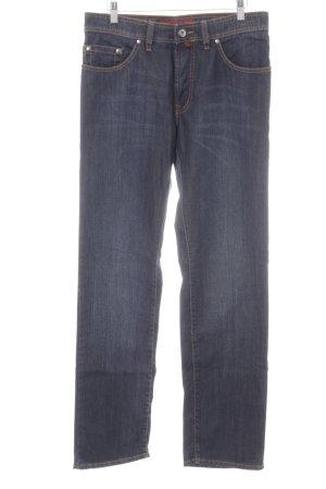 Pierre Cardin Straight-Leg Jeans dunkelblau Casual-Look