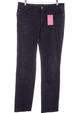 Pierre Cardin Straight-Leg Jeans schwarz Casual-Look
