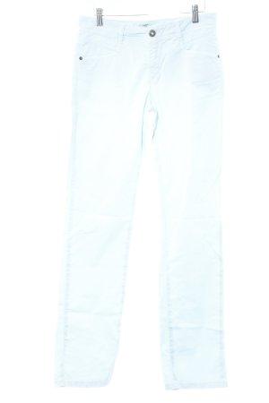 Pierre Cardin Stretchhose himmelblau Casual-Look