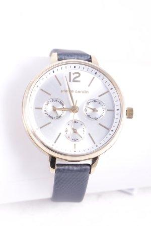 Pierre Cardin Uhr grau klassischer Stil