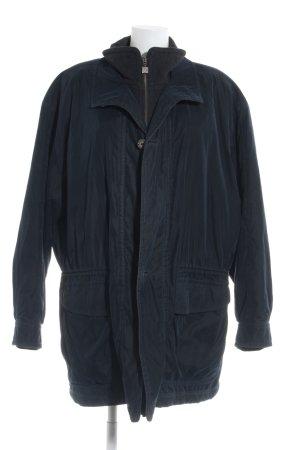 Pierre Cardin Wintermantel dunkelblau-schwarz Casual-Look