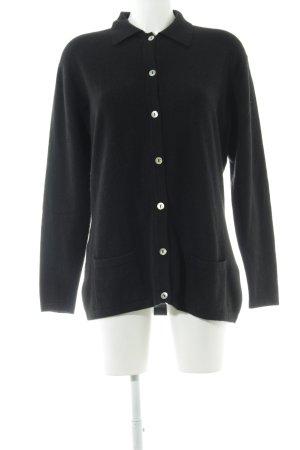 pierre claire Ensemble en tricot noir style décontracté