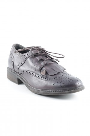 Pierre Darré Lace Shoes dark brown dandy style