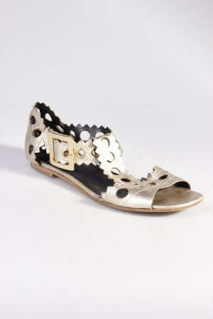 Pierre Hardy sandals gold