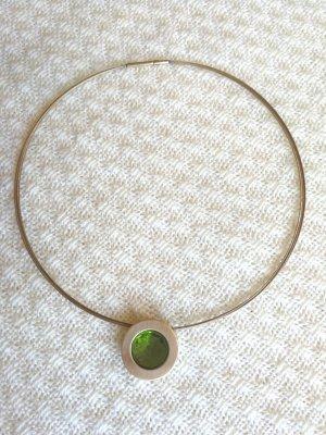 Pierre Lang Anhänger mit grünem Stein