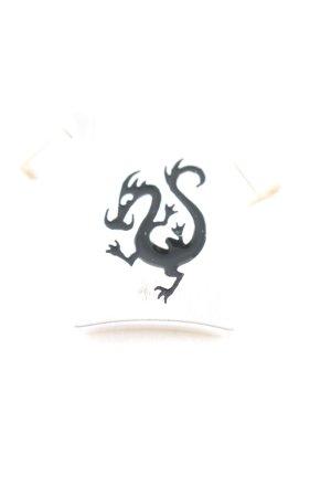 Pierre Lang Anhänger silberfarben-schwarz Motivdruck Casual-Look