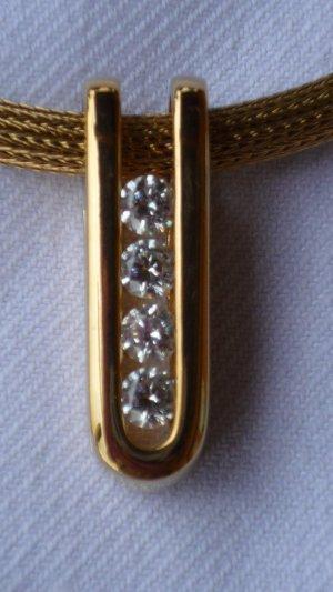 Pierre Lang Colgante color oro-blanco metal
