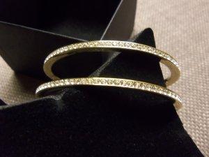 Pierre Lang Armspange gold Swarovskisteine go/ky Gr M #16642 neuwertig
