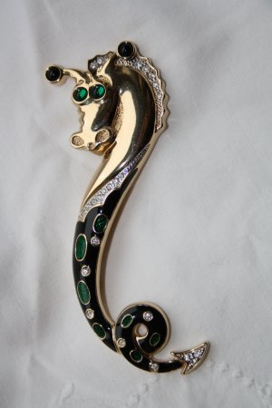 Pierre Lang Broche doré métal