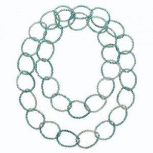 Pierre Lang Collar verde pálido-verde grisáceo