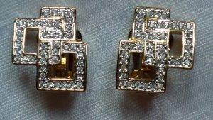 Pierre Lang Clip d'oreille doré métal