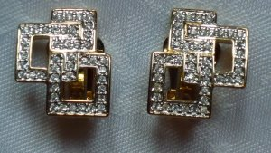 Pierre Lang Earclip gold-colored metal
