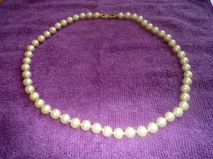 Pierre Lang Pearl Necklace gold-colored