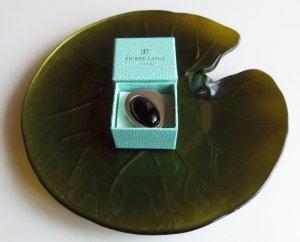Pierre Lang Ring rhm/swz Größe VII bzw. ca. 58 mm top Zustand #13330 NP 179 €