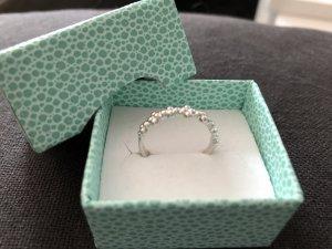 Pierre Lang Ring Silber Rhodium Gr. VIII
