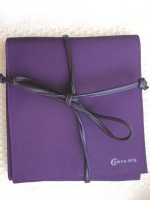 Pierre Lang Travel Bag dark violet