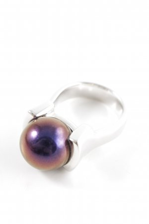 Pierre Lang Statement Ring silver-colored-lilac business style