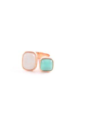 Pierre Lang Bague incrustée de pierres multicolore style Boho