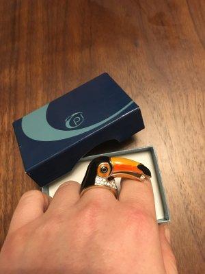 Pierre Lang TUKAN RING 18mm vergoldet - NP 250€