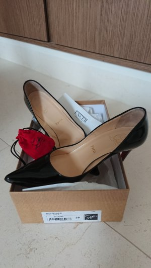 Christian Louboutin High Heels black-red leather