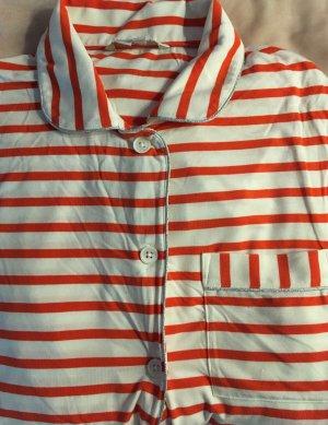 Boden Pyjama lichtrood-wit