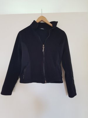 Pikeur Giacca in pile nero