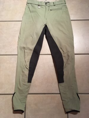 Pikeur Pantalone da equitazione menta-grigio scuro