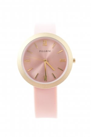 Pilgrim Montre analogue rose-doré style décontracté