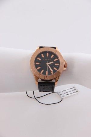 Pilgrim Armbanduhr schwarz-rosé