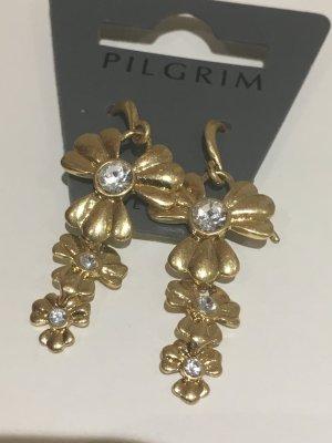 Pilgrim Damen-Ohrring Romance Vergoldet, Kristall 530-913 Boho