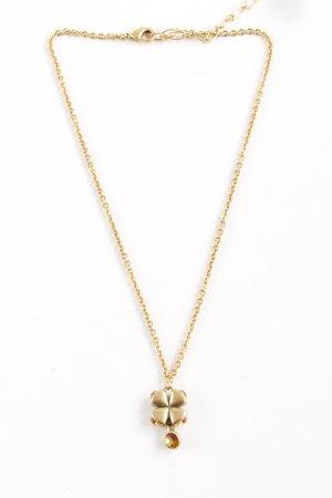 Pilgrim Halskette goldfarben-goldorange klassischer Stil