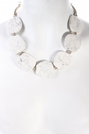 Pilgrim Halskette mehrfarbig Marmor-Optik