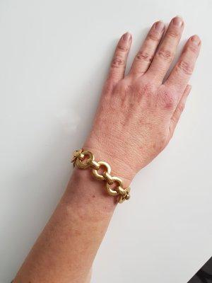 Pilgrim Ketten Armband golden Neuwertig
