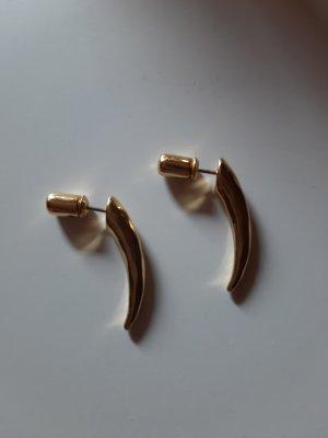 Pilgrim Boucle d'oreille incrustée de pierres doré