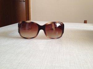 Pilgrim Sonnenbrille braun/gold mit Glitzersteinen