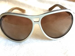PILGRIM Sonnenbrille in Retro-Optik *Creme