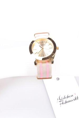 Pilgrim Uhr grau-pink