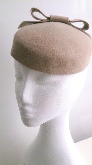 Felt Hat gold-colored new wool