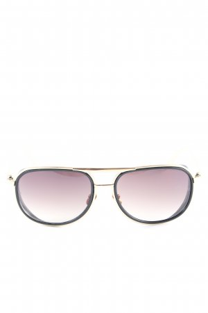 Aviator Glasses gold-colored-black casual look