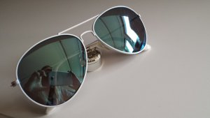 Bril wit-lichtblauw