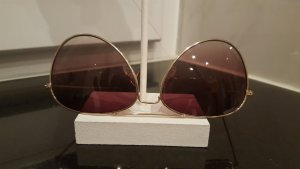 Sunglasses gold-colored-light brown