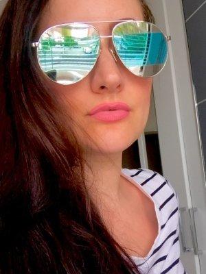 Pilotenbrille a la Dior