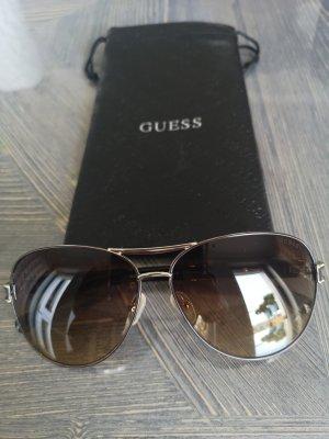 Guess Gafas de sol ovaladas marrón oscuro