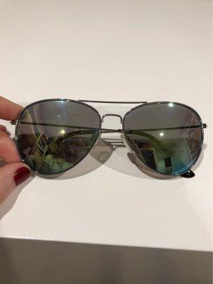 Pilotenbrille reflektierte Gläser