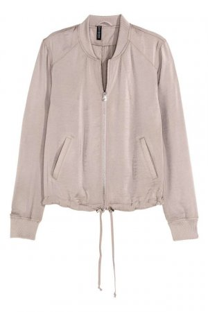 H&M Divided Veste d'aviateur gris