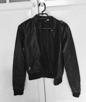 H&M Flight Jacket black