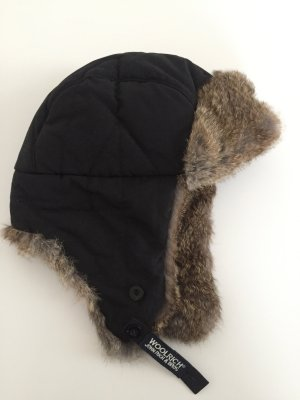 Woolrich Chapeau d'aviateur noir
