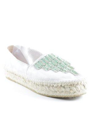 Pimientos Espadrille sandalen zilver-room Beach-look